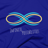 "Infinite Possibiities / ""One Ripple Moves An Ocean"" T-shirt – Lapis"