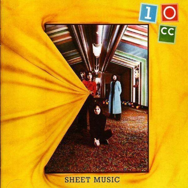 10cc - Sheet Music (Yellow vinyl)Vinyl