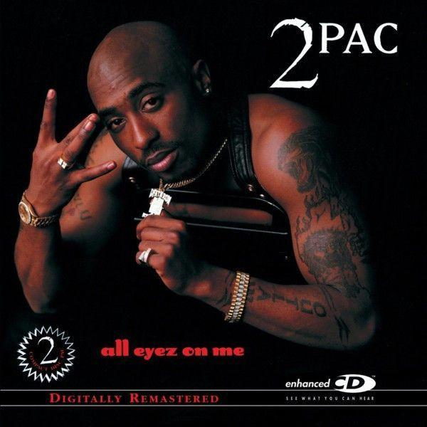2Pac - All Eyez On Me (4LP, Remastered)Vinyl