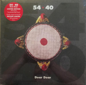 54-40 - Dear Dear (Limited Edition, Red Vynyl)Vinyl