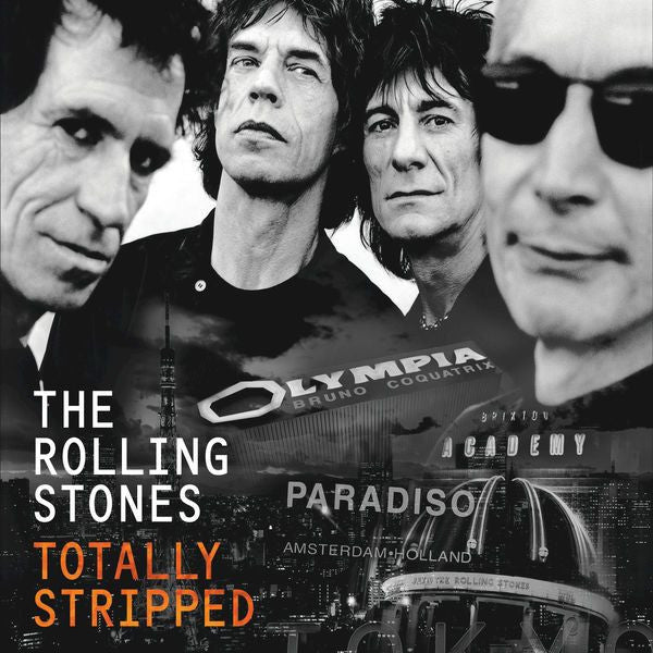 Rolling Stones, The - Totally Stripped (2LP + DVD) - Vinyl - Eagle Vision at Funky Moose Records