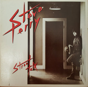 Steve Perry - Street Talk (LP, Album, RE, Used) - Used Records - Columbia at Funky Moose Records