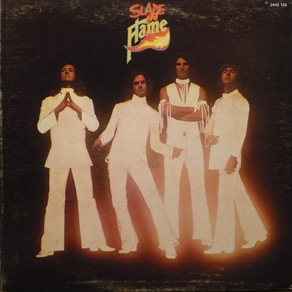 Slade - Slade In Flame (LP, Gat, Used) - Used Records - Polydor at Funky Moose Records