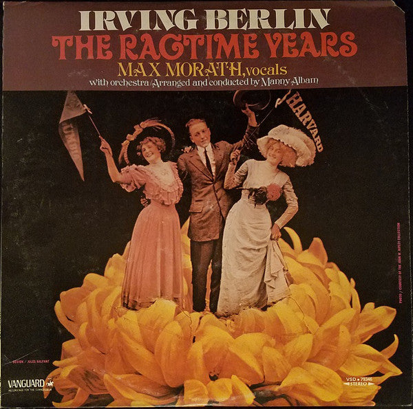 Max Morath - Irving Berlin: The Ragtime Years (LP, Album, Used) - Used Records - Vanguard at Funky Moose Records