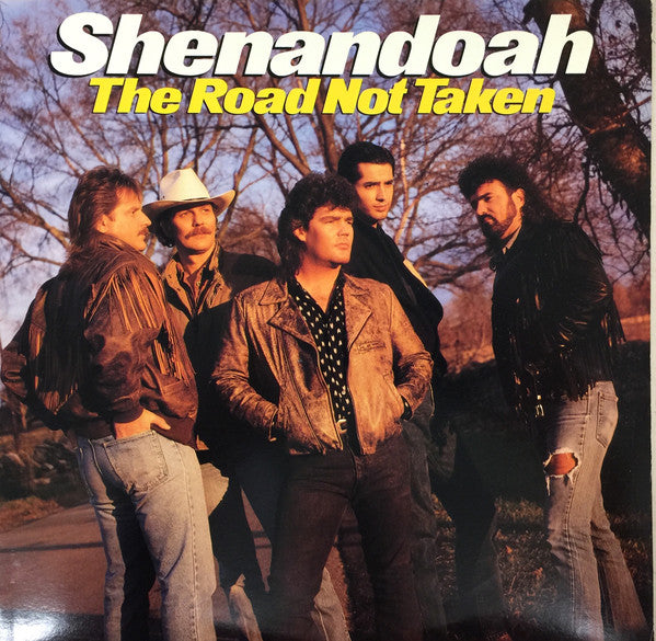 Shenandoah - The Road Not Taken (LP, Album, Promo, Used) - Used Records - Columbia at Funky Moose Records