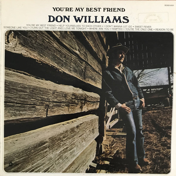 Don Williams - You're My Best Friend (LP, Album, RE, Used)