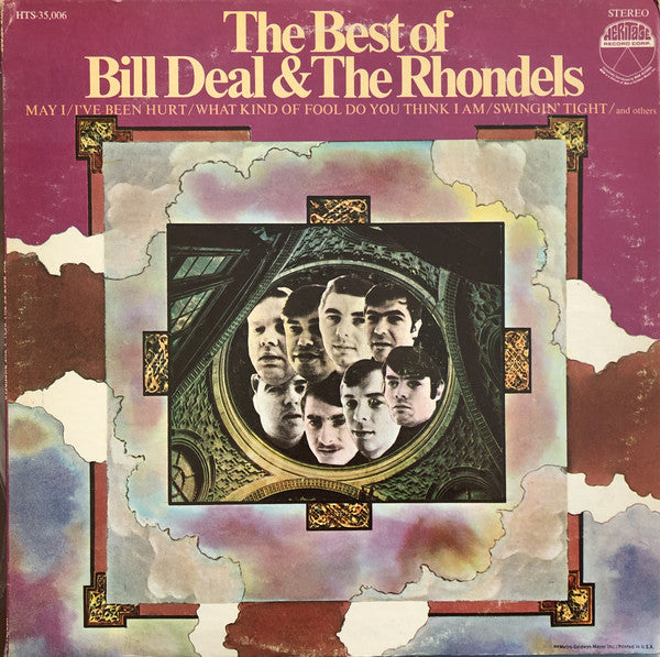 Bill Deal & The Rondells - The Best Of Bill Deal & The Rhondels (LP, Comp, Used)