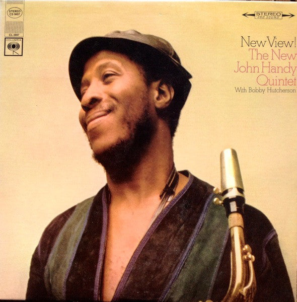 The New John Handy Quintet - New View! (LP, Album, Used) - Used Records - Columbia at Funky Moose Records