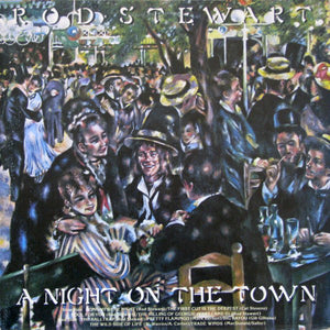 Rod Stewart - A Night On The Town (LP, Album, Used)