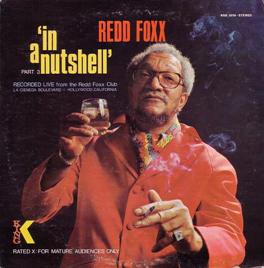 Redd Foxx - In A Nutshell (LP, Album, Used) - Used Records - King Records (3) at Funky Moose Records