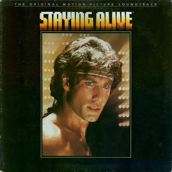 Various - The Original Motion Picture Soundtrack - Staying Alive (LP, Album, Gat, Used)