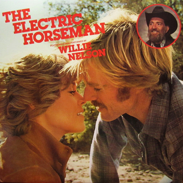 Willie Nelson - The Electric Horseman (Music From The Original Motion Picture Soundtrack) (LP, Album, Ter, Used) - Used Records - Columbia at Funky Moose Records