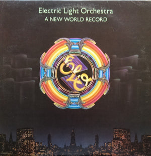 Electric Light Orchestra - A New World Record (LP, Album, Emb, Used)