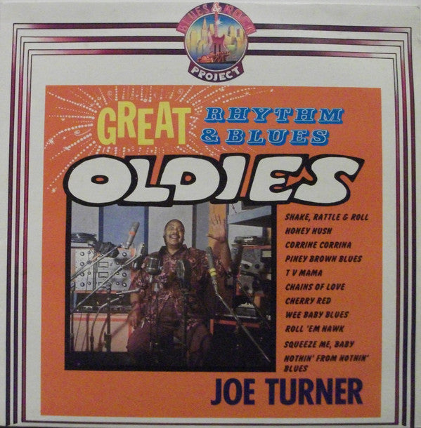 Big Joe Turner - Great Rhythm & Blues Oldies (LP, Used)