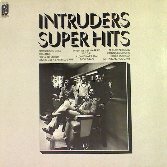 The Intruders - Super Hits (LP, Comp, RE, Used)