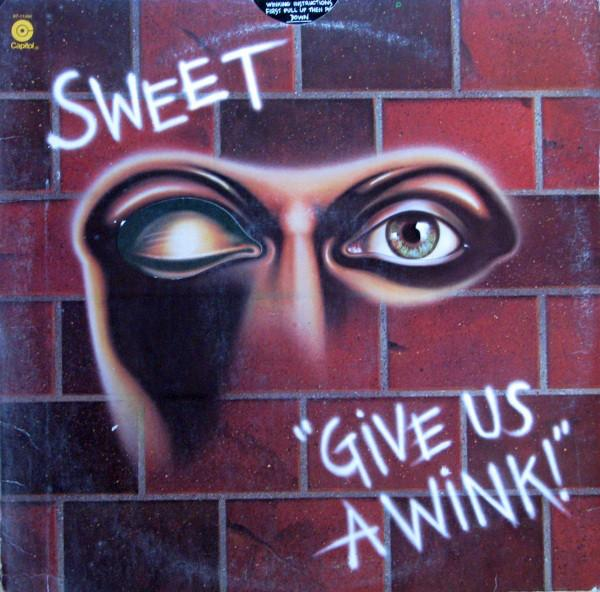 The Sweet - Give Us A Wink (LP, Album, Used) - Used Records - Capitol Records at Funky Moose Records
