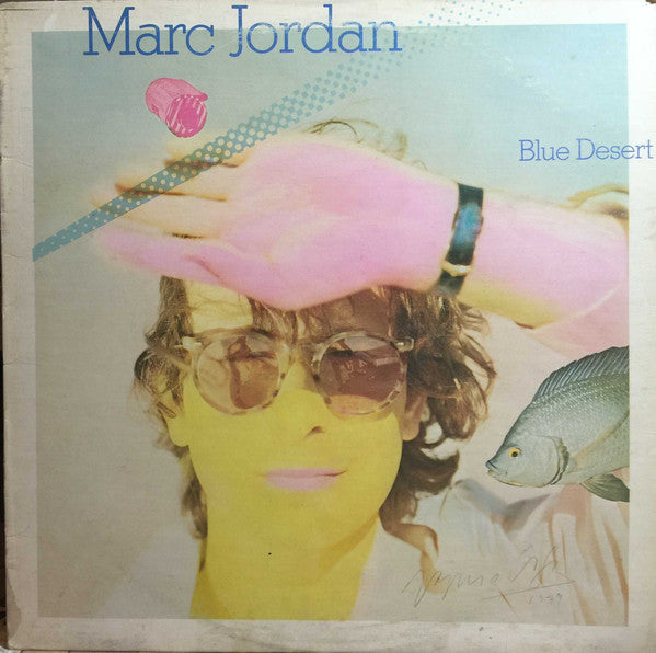 Marc Jordan - Blue Desert (LP, Album, Used) - Used Records - Warner Bros. Records at Funky Moose Records