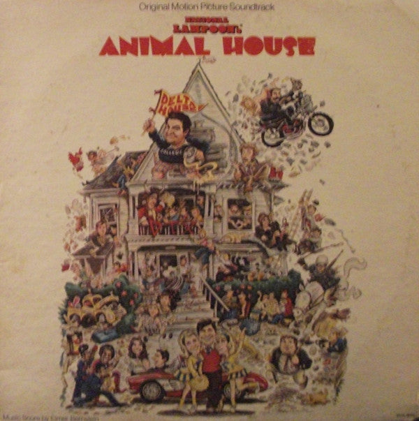 Various - National Lampoon's Animal House (Original Motion Picture Soundtrack) (LP, Comp, Used) - Used Records - MCA Records at Funky Moose Records