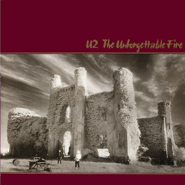 U2 - The Unforgettable Fire (LP, Album, Used) - Used Records - Island Records at Funky Moose Records