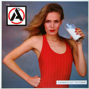 The A's - A Woman's Got The Power (LP, Album, Used) - Used Records - Arista at Funky Moose Records