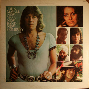 John Mayall - New Year, New Band, New Company (LP, Album, Gat, Used)