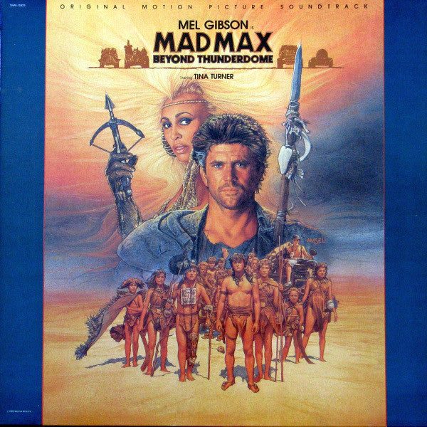 Various - Mad Max Beyond Thunderdome - Original Motion Picture Soundtrack (LP, Album, Used)