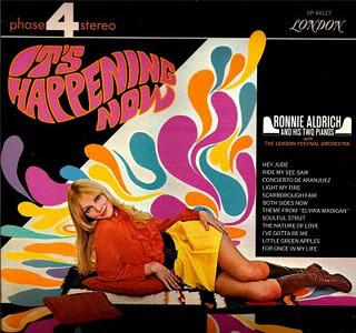 Ronnie Aldrich With The London Festival Orchestra - It's Happening Now (LP, Album, Used) - Used Records - London Records, London Records at Funky Moose Records