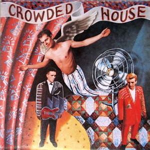 Crowded House - Crowded House (LP, Album, Used) - Used Records - Capitol Records at Funky Moose Records