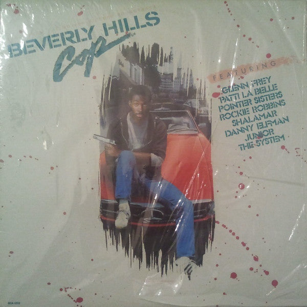 Various - Music From The Motion Picture Soundtrack - Beverly Hills Cop (LP, Comp, Club, Used) - Used Records - MCA Records at Funky Moose Records
