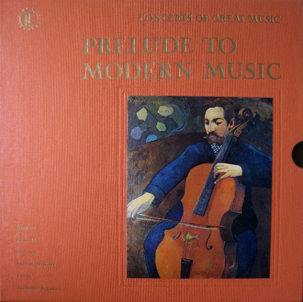 Various - Concerts Of Great Music, Prelude To Modern Music (5xLP, Comp + Box, Used) - Used Records - Time Life Records at Funky Moose Records