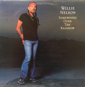 Willie Nelson - Somewhere Over The Rainbow (LP, Album, Used) - Used Records - Columbia at Funky Moose Records