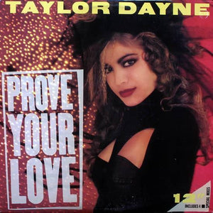 "Taylor Dayne - Prove Your Love (12"", Single, Used) - Used Records - Arista at Funky Moose Records"