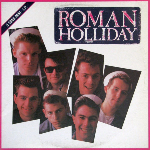 Roman Holliday - Roman Holliday (LP, MiniAlbum, Used) - Used Records - Jive at Funky Moose Records