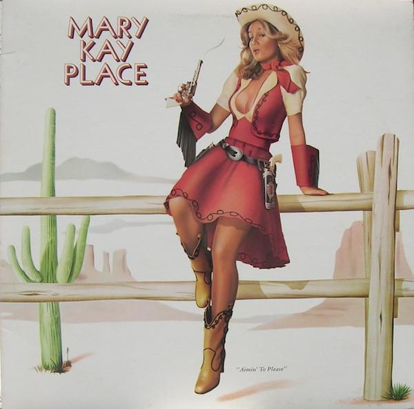Mary Kay Place - Aimin' To Please (LP, Album, Used) - Used Records - Columbia at Funky Moose Records