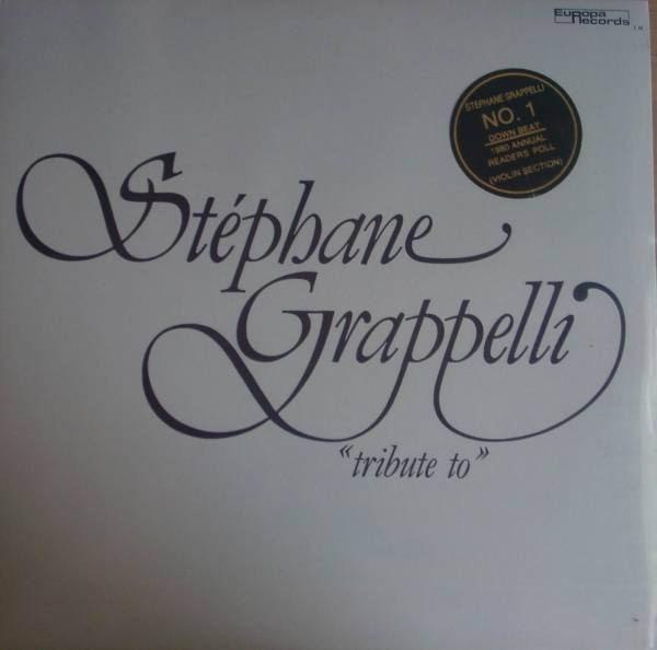 Stéphane Grappelli - Tribute To (LP, Album, Used) - Used Records - Europa Records at Funky Moose Records