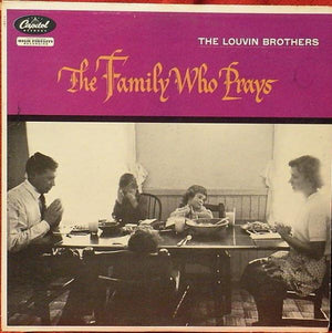 The Louvin Brothers - The Family Who Prays (LP, Mono, Album, Used) - Used Records - Capitol Records at Funky Moose Records