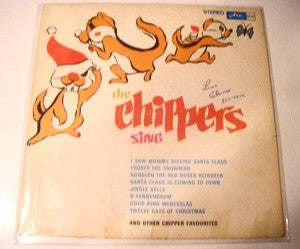 The Chippers - Christmas With The Chippers (LP, Used) - Used Records - Arc Records (4) at Funky Moose Records