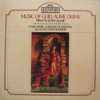 "Guillaume Dufay - Music Of Guillaume Dufay: Missa ""Se La Face Ay Pale"" (LP, Album, Used) - Used Records - Seraphim at Funky Moose Records"