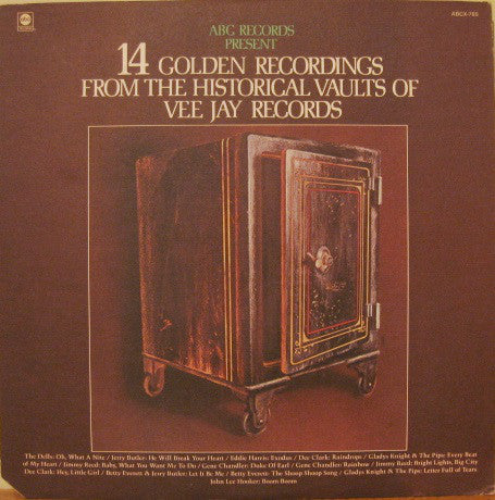 Various - 14 Golden Recordings From The Historical Vaults Of Vee Jay Records (LP, Comp, Used)
