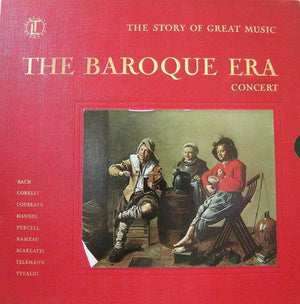 Various - The Baroque Era Concert (5xLP, Comp + Box, Used) - Used Records - Time Life Records at Funky Moose Records