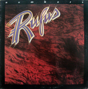 Rufus - Numbers (LP, Album, Used) - Used Records - ABC Records at Funky Moose Records