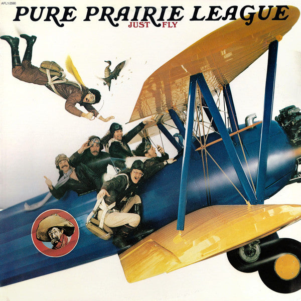 Pure Prairie League - Just Fly (LP, Used) - Used Records - RCA Victor at Funky Moose Records