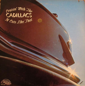 Various - Cruisin' With The Cadillacs 'N Cats Like That (LP, Comp, Used) - Used Records - Harlem Hitparade at Funky Moose Records