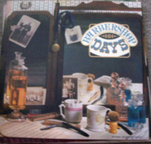 Various - Barbershop Days (LP, Comp, Used) - Used Records - National Geographic Society at Funky Moose Records