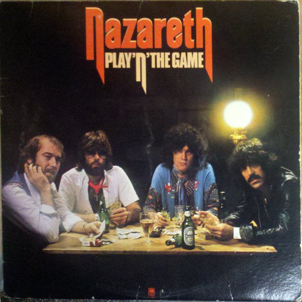 Nazareth - Play'n' The Game (LP, Album, Used) - Used Records - A&M Records at Funky Moose Records