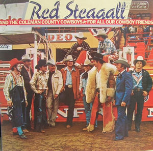 Red Steagall - For All Our Cowboy Friends (LP, Album, Used) - Used Records - Dot Records at Funky Moose Records