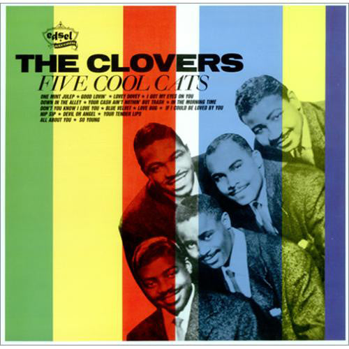 The Clovers - Five Cool Cats (LP, Comp, Mono, Used) - Used Records - Edsel Records at Funky Moose Records