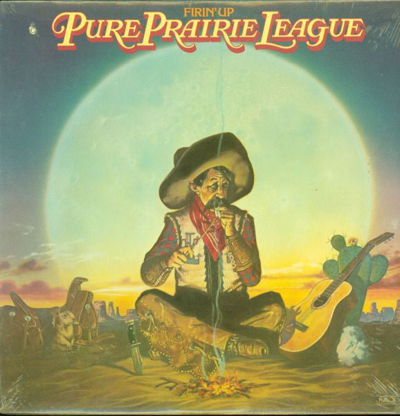 Pure Prairie League - Firin' Up (LP, Album, Used) - Used Records - Casablanca at Funky Moose Records