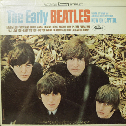 The Beatles - The Early Beatles (LP, Comp, RE, Used)