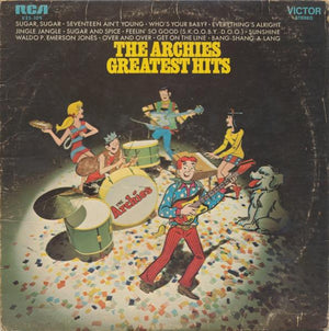 The Archies - Greatest Hits (LP, Comp, Used) - Used Records - RCA Victor at Funky Moose Records